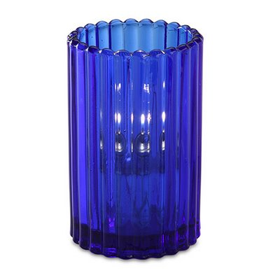 Blue Paragon Candle Lamp