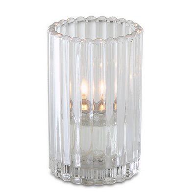 Clear Paragon Candle Lamp