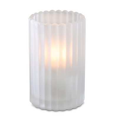 Frosted Paragon Candle Lamp