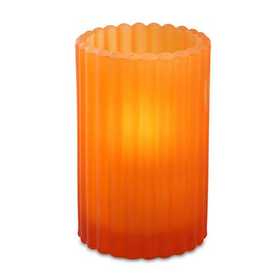 Peach Paragon Candle Lamp