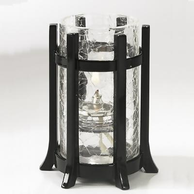 Castle Lamp w/ Crackle Cylinder