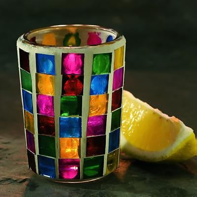 Mini Mosaic Votive Lamp Base