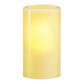Candle Lamp 840 Hollow Wax Pillar Lamp, Ivory