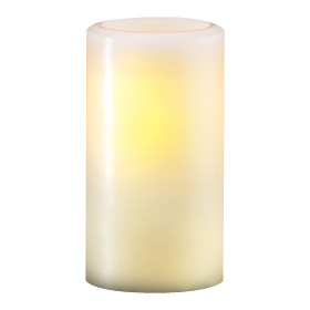Candle Lamp 840 Hollow Wax Pillar Lamp, White