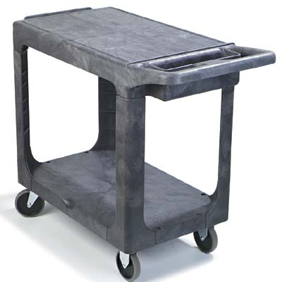 Genial 500 Lb. Utility Cart: Back View