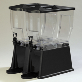Carlisle Premium  Drink Dispenser, Black