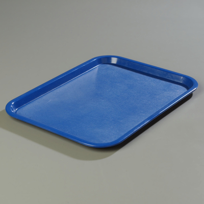 "18"" x 14"" Carlisle Cafe Tray, Blue"