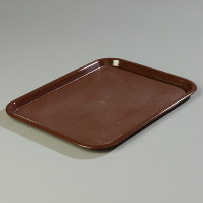 "18"" x 14"" Carlisle Cafe Tray, Chocolate"
