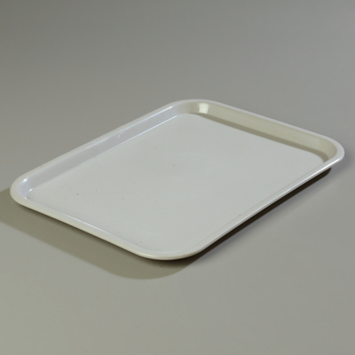 "18"" x 14"" Carlisle Cafe Tray, Gray"