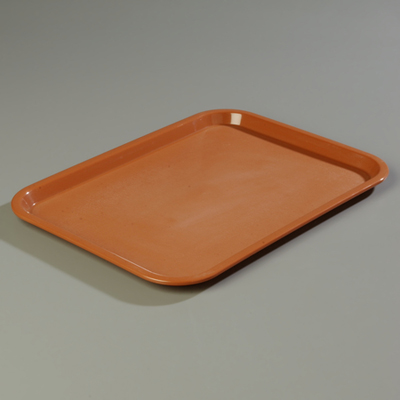 "18"" x 14"" Carlisle Cafe Tray, Light Brown"