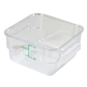 Square Food Storage Containers Bulk Food Storage