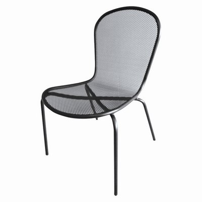 Plantation Prestige 2040700 04   Rockport Metal Outdoor Side Chair