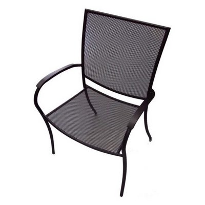charcoal manhattan dining chair
