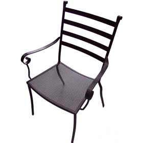 Lovely Plantation Prestige 2011100 0450   Terrace Metal Outdoor Dining Chair