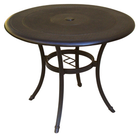 Charcoal Solid Table Top (shown With Optional Base)