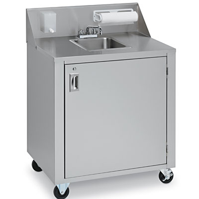 ... One Compartment Outdoor Hand Sink - Hand Wash Sinks - ZESCO.com