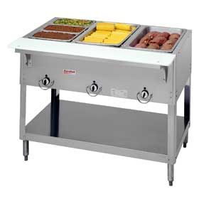 Duke 303 3 Well Gas Food Warmer Steam Table Hot Food