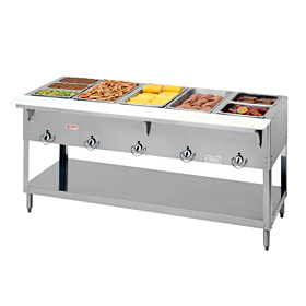 Duke 305 5 Well Gas Food Warmer Steam Table Hot Food