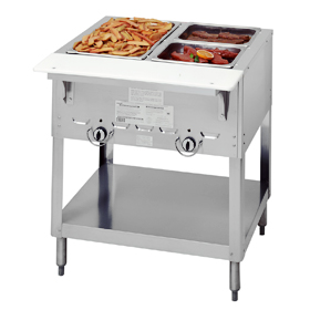 Duke E Well Electric Food Warmer Steam Table Hot Food - 2 well steam table