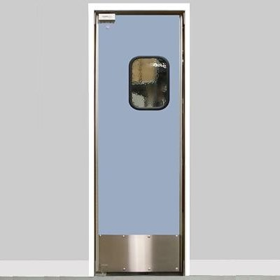 "Restaurant Kitchen Swing Doors eliason lwp-3-36sngl-dr - 36"" single door opening - easy swing"