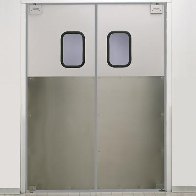 Eliason door glass display doors sc 1 st we can handle all your cold storage needs - Commercial double swing doors ...