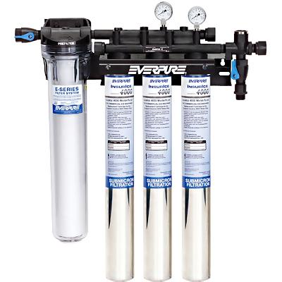 Everpure ev9325 23 insurice triple pf i4000 system water for Everpure water filter system reviews