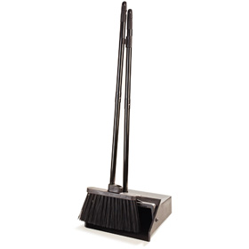 Delightful Lobby Dust Pan And Broom Combo