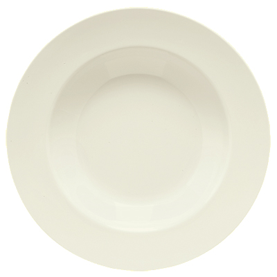 Bone White Melamine Pasta Salad Bowl