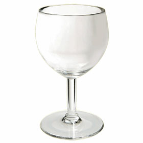 6 oz plastic wine glasses
