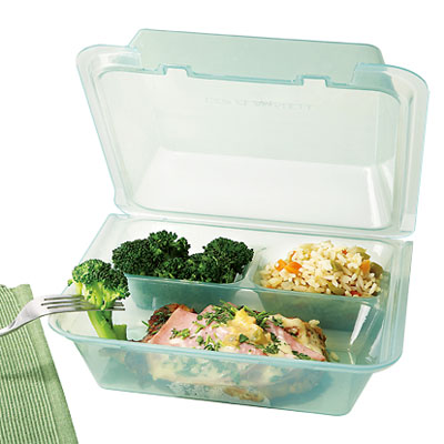 Get EC 01 Three Compartment Food Container Eco Containers