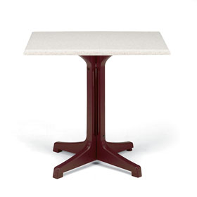 ... Smooth Tabletop With Pedestal Base (sold Separately)