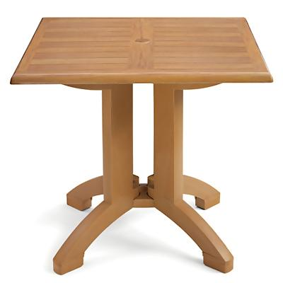 32 inch Square Pedestal Table