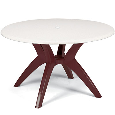 Round Table Top with Y Leg Base