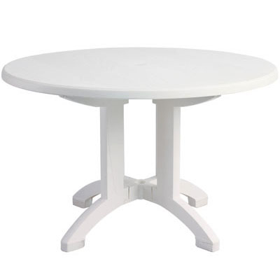 "48"" Round Aquaba Table and Base"