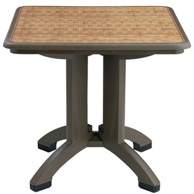 "32"" Havana Table, Espresso Base"