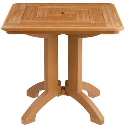 Atlantis Table with Teakwood Trim