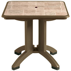 "32"" Siena Table with Bronze Mist Base"