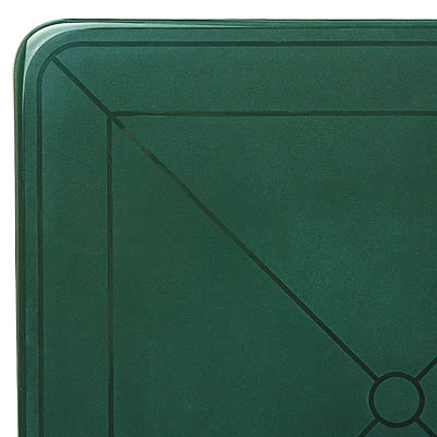 Vega Table Top in Amazon Green