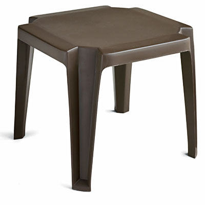 grosfillex 520990 miami stackable low table 17 square choose