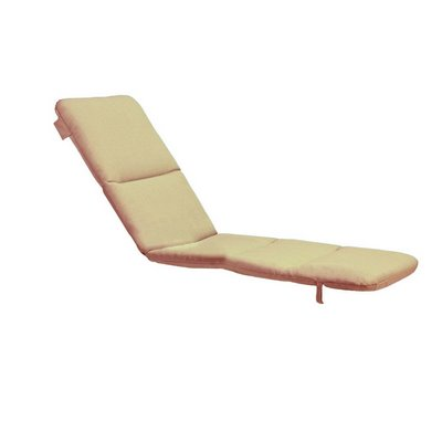 Grosfillex 98234131 - Replacement Chaise Cushion With Hood - Beige