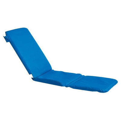 Grosfillex 98239231 - Replacement Chaise Cushion With Hood - Royal Blue