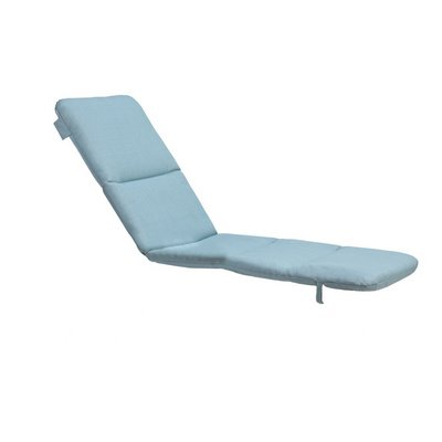 Grosfillex 98235031 - Replacement Chaise Cushion With Hood - Spa Blue