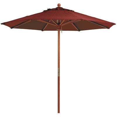 9' Market Umbrella, Burgundy