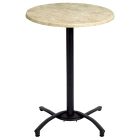 Beau Black Table Base(tabletop Sold Separately)