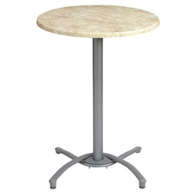 ... Silver Gray Table Base(tabletop Sold Separately)