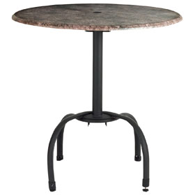 Black Table Base(table Top Sold Separately)