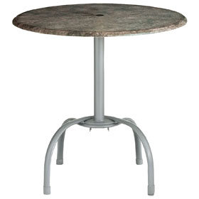 Silver Gray Table Base (table Top Sold Separately)