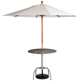 ... With Umbrella And Umbrella Stand (sold Separately)