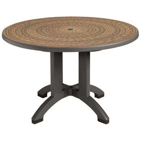 "48"" Round Havana Table, Espresso"