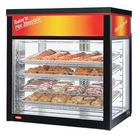 Hatco WFST-1X-BLACK - Heated and Humidified Display Cabinet - Hot ...
